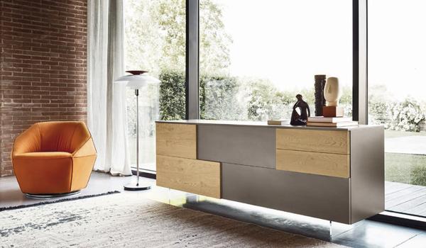 Arredamento Moderno Salotto : Arredamento moderno soggiorno mobili brazzorotto