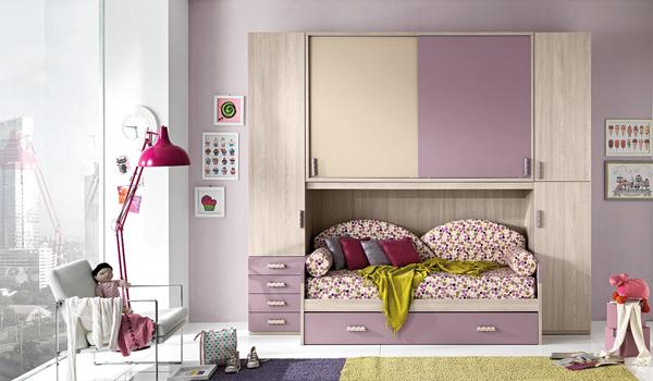 camera da letto a ponte per bambini