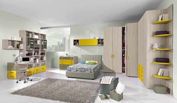camere da letto e arredamento per bambini