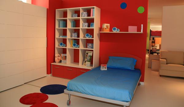 Cameretta bambino con libreria occasione mobili brazzorotto - Libreria cameretta bambini ...