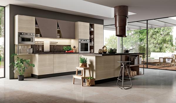 cucina-moderna-isola-brazzorotto-rovigo - Mobili Brazzorotto