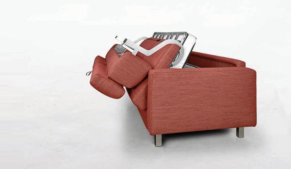 divano-letto-rosso-2 - Mobili Brazzorotto