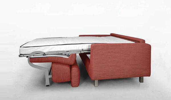 divano-letto-rosso-3 - Mobili Brazzorotto