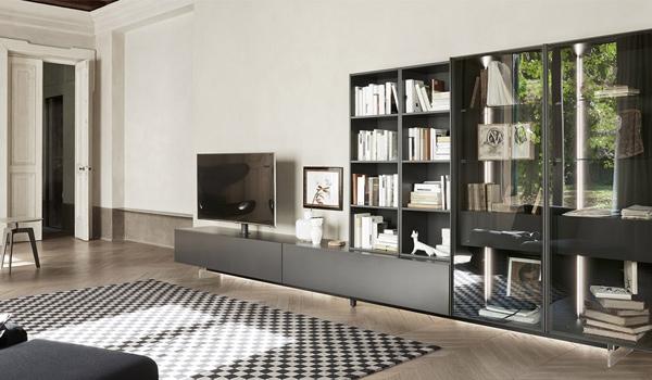 Soggiorni, divani, librerie, pareti attrezzate altamente ...